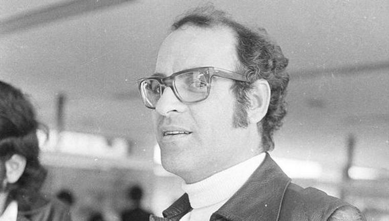 Quino fotografato durante una sosta a Lima, in Perù, nel 1973 [Photo: GEC Historical Archive]