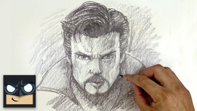 Come disegnare Doctor Strange |ドクターストレンジの描き方| Schizzo sabato土曜日のスケッチ
