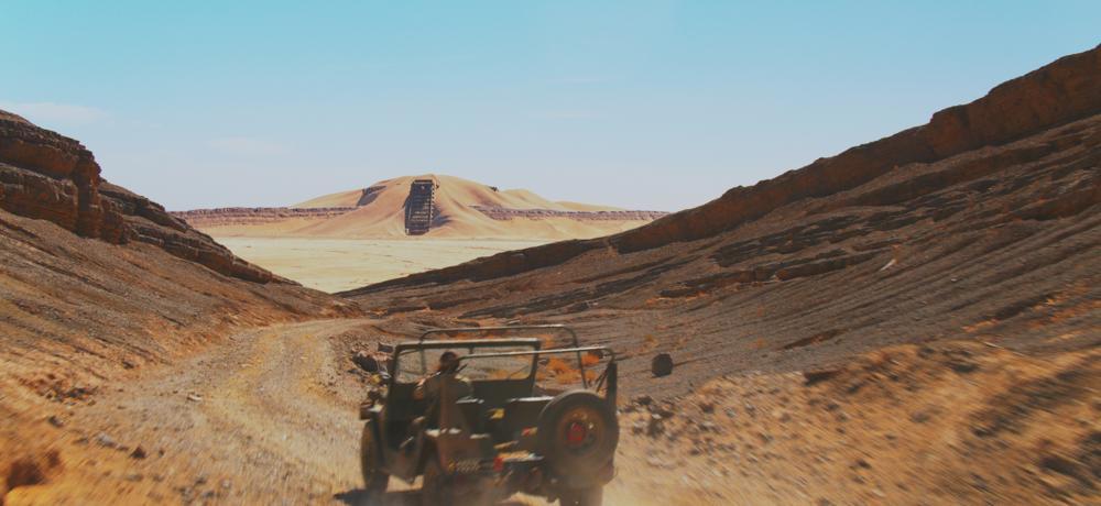 स्टार वार्स: ओरिजिन को सहारा रेगिस्तान में फिल्माया गया था।