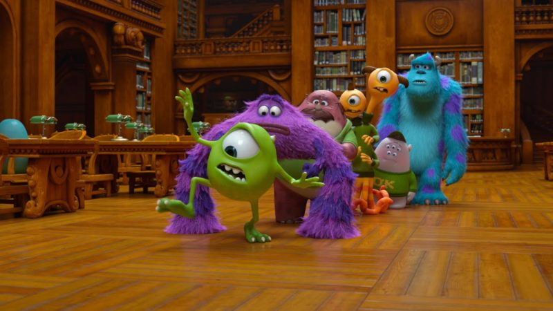 Sfida in biblioteca | Monsters University