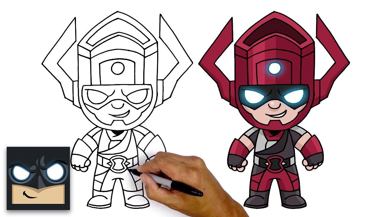 Come disegnare Galactus   Fortnite