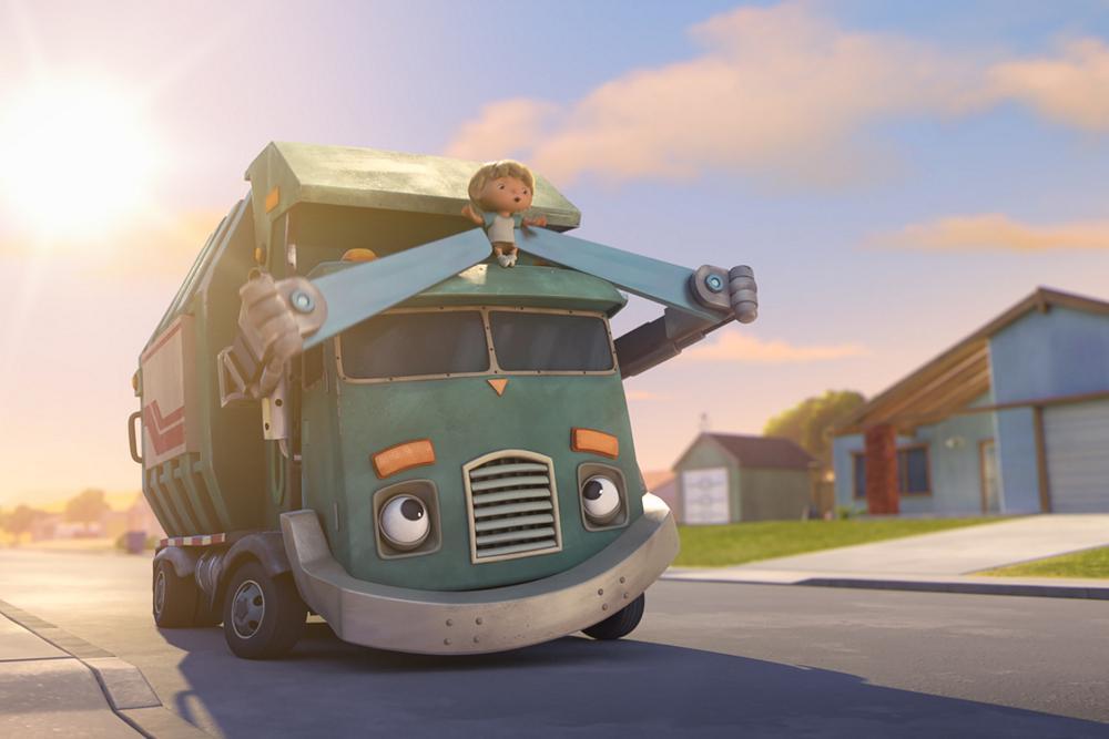 कचरे का ट्रक