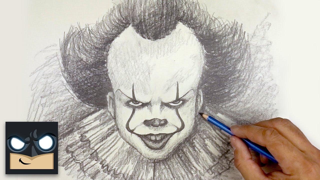 Come disegnare IT (Pennywise) il pagliaccio, a matita