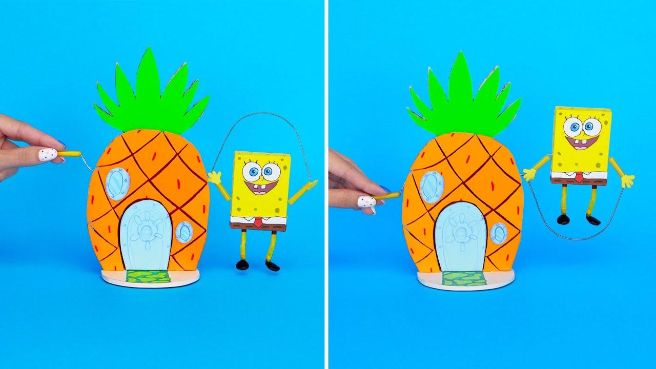 Come realizzare la casa di Spongebob e altri giochi creativi