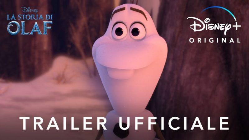 迪士尼+ 奥拉夫的故事-23月XNUMX日播出的原创短片