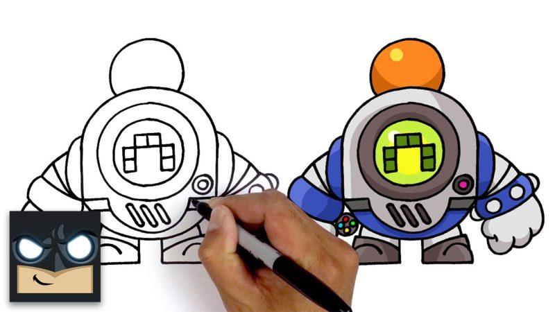 Cómo dibujar Retro Dwarfs | Estrellas de pelea