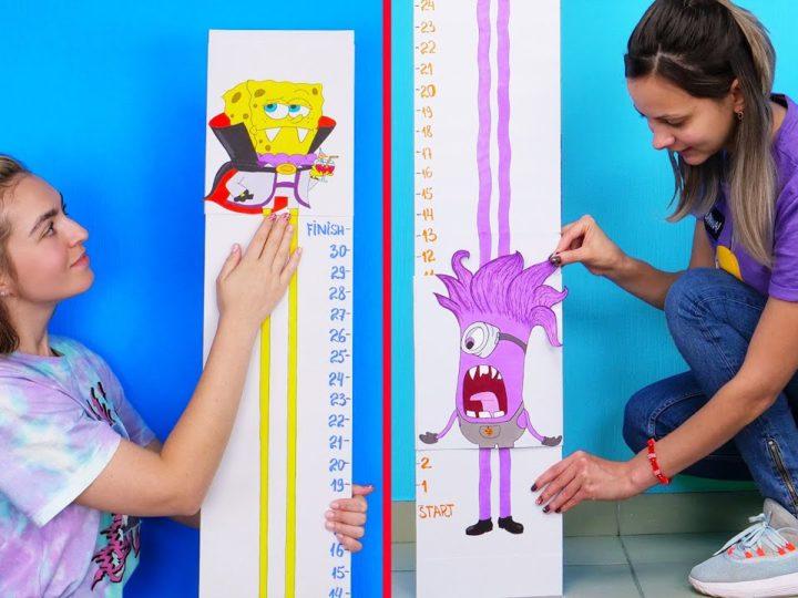 Comment construire un joli mètre pour mesurer la hauteur des enfants