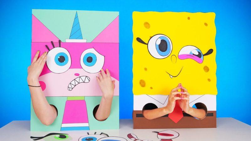 가족과 재미를위한 환상적인 DIY 게임