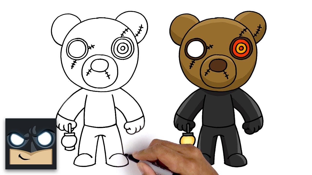 Come disegnare Mr.Stitchy | Roblox Piggy