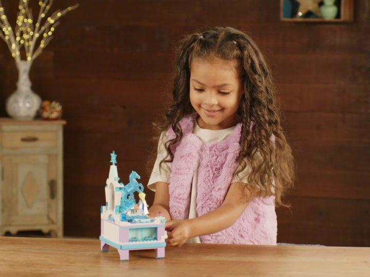 Videoclipul Frozen al jucăriei LEGO - Cutia de bijuterii Elsa