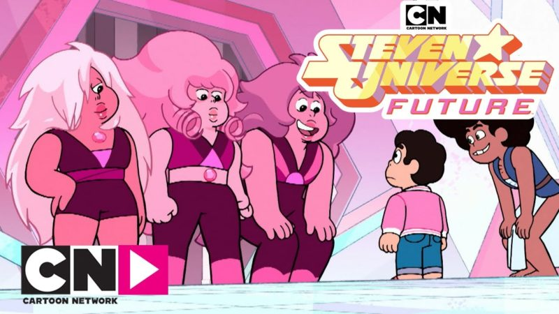 "Vidéo de Steven Universe Future ""Many Pink Quartz"" de Cartoon Network Italia"