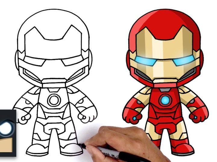 Come disegnare Iron Man | Fortnite Marvel Legends