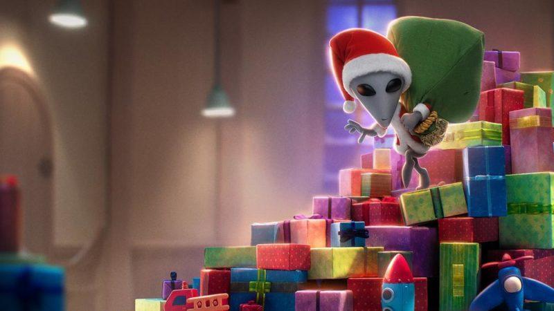 """""""Natale eXtraterrestre"""" il film di animazione dal 20 novembre su Netflix"""