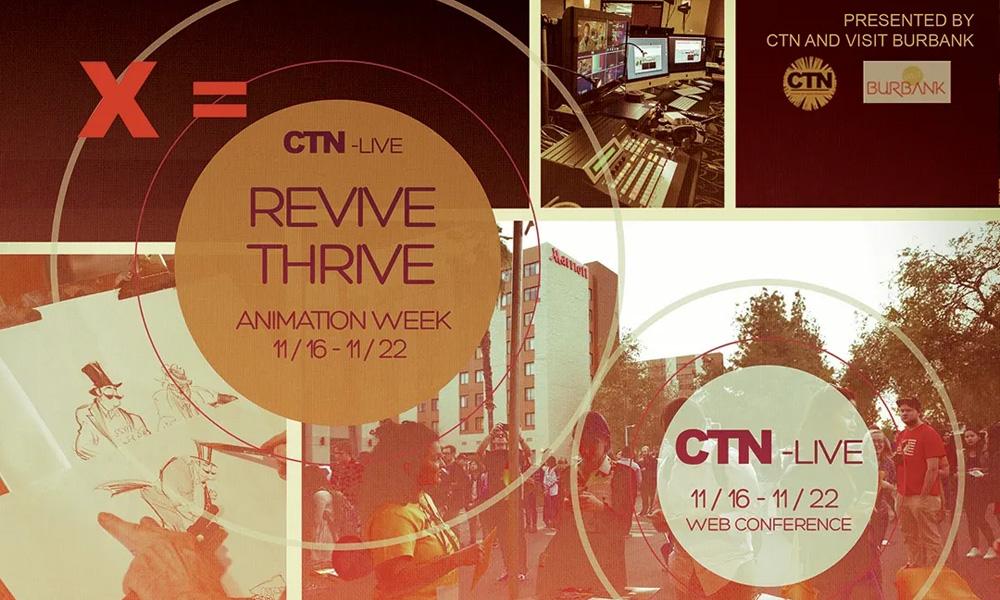 CTN Live rende virtuale e mondiale l'evento di Burbank