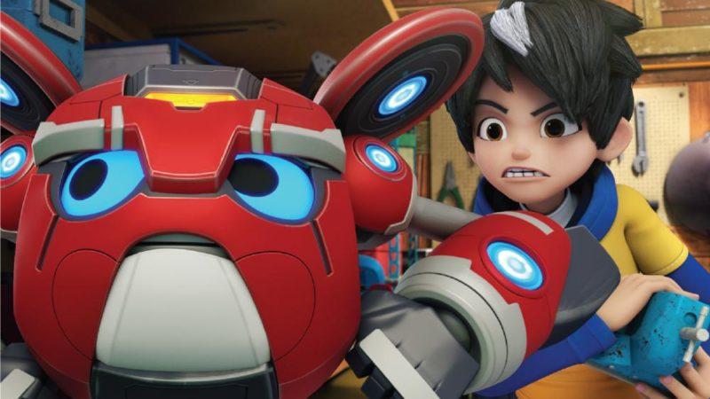 """""""Mechamoto"""" - die neue Zeichentrickserie von Monsta Studios"""