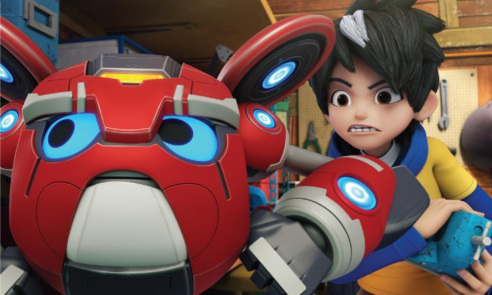 """""""Mechamoto"""" – la nuova serie animata di Monsta Studios"""