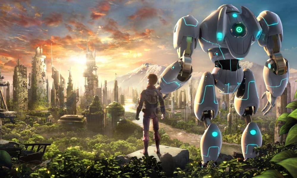 Stonerunner द साइंस फिक्शन एनिमेटेड फिल्म रोबोट्स के बारे में