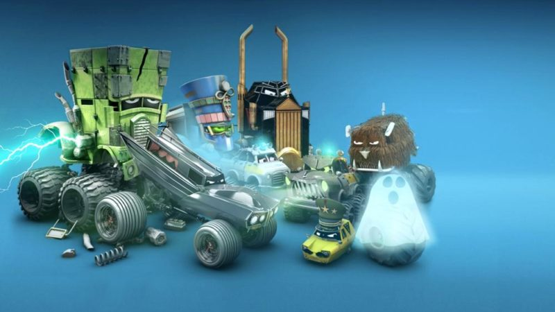 """The Incredible Monsta Trucks"" la serie animada de Cosmos-Maya, Dear Will y Piranha Bar"