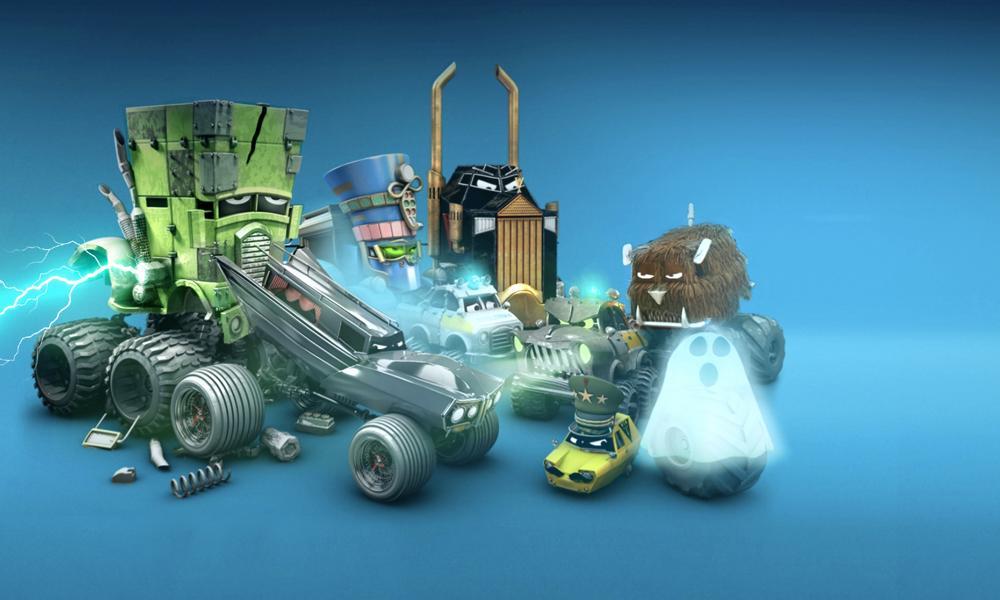 """""""Gli incredibili camion Monsta"""" la serie animata di Cosmos-Maya, Dear Will e Piranha Bar"""