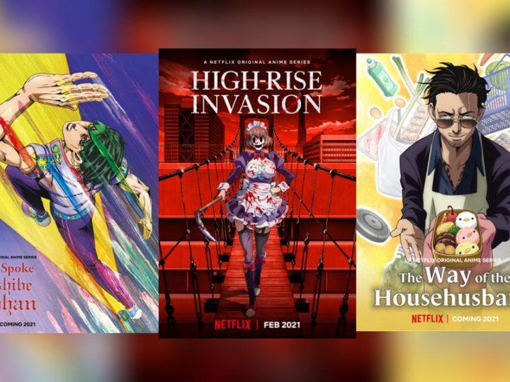 Netflix ajoute 5 anime et partage des aperçus sur les grands projets