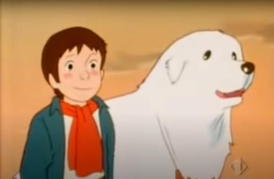 벨과 세바스찬-1981 년 일본 애니메이션 시리즈