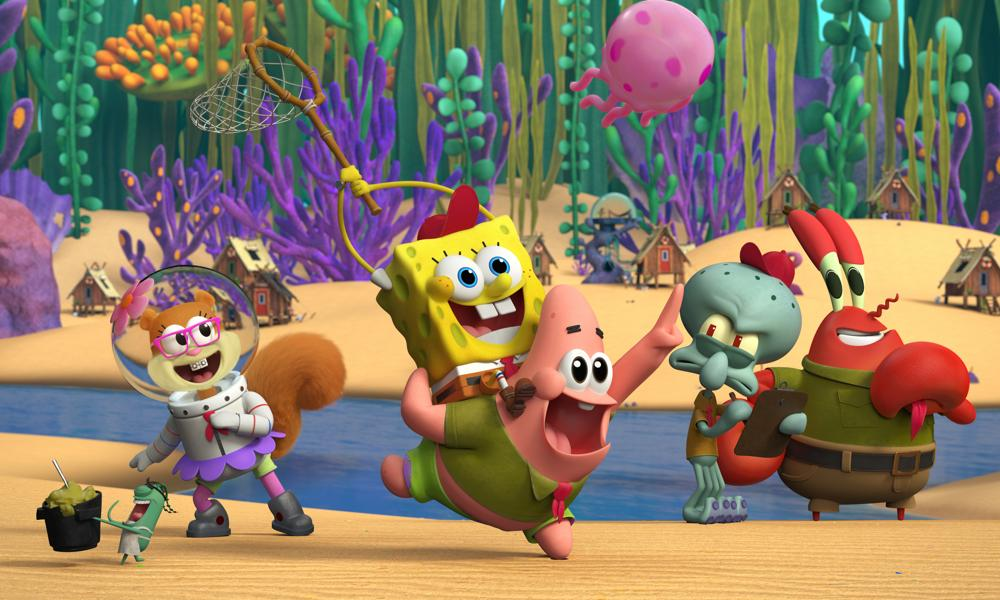 "The Aquatic Tykes din ""Kamp Koral: SpongeBob's Under Years"" din Nickelodeon!"