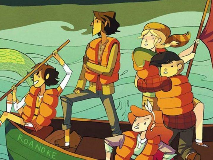 """Il fumetto di """"Lumberjanes"""" di Noelle Stevenson diventa una serie animata"""
