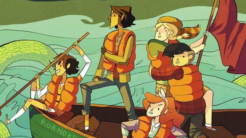 """नोएल स्टीवेन्सन की """"लंबरजनेस"""" कॉमिक एक एनिमेटेड श्रृंखला बन गई है"""
