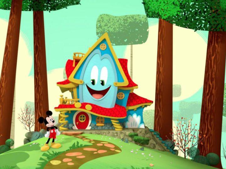 ディズニージュニアの新アニメシリーズ「ミッキーマウスファンハウス」