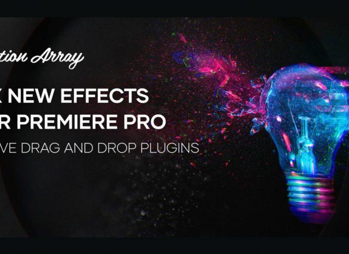 Motion Arrayは、PremierePro用のXNUMXつの新しいプラグインをリリースします