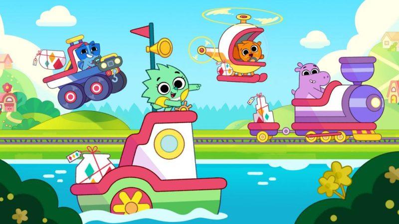 """Pikwik Pack"" barnens animerade serie om Disney Junior i november"