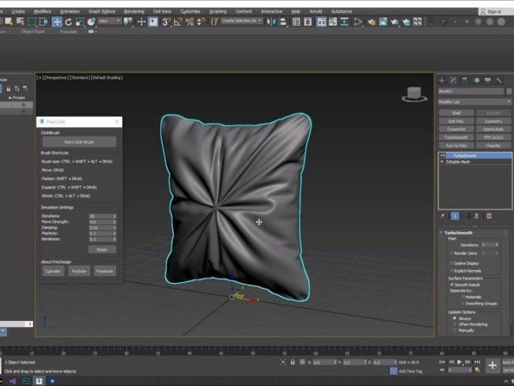 Todd Sheridan Perry의 옷감과 광기의 3D 기능에 대한 조언