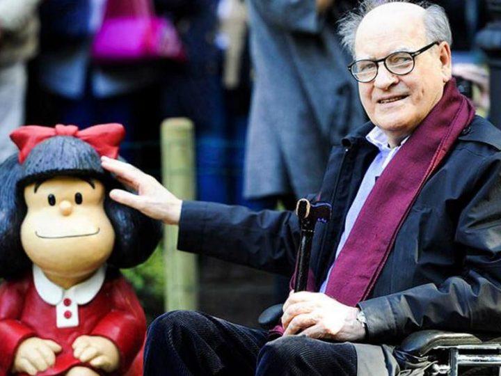 Skaparen av 'Mafalda' Quino dör 88 år gammal