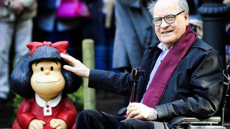 """Quino, o autor de """"Mafalda"""" morreu aos 88 anos"""