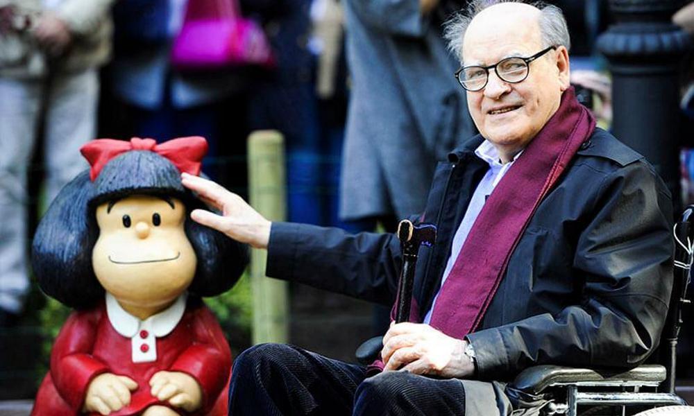 """E' morto Quino, l'autore di """"Mafalda"""" all' età di 88 anni"""