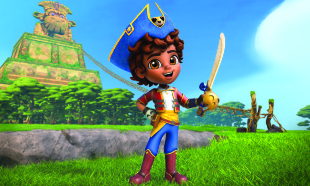 """""""Santiago of the Seas""""stabilisce il record di spettatori su Nickelodeon"""