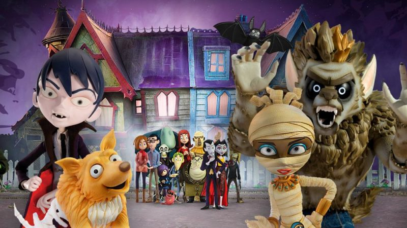 """Scream Street"" la serie animata horror per bambini"