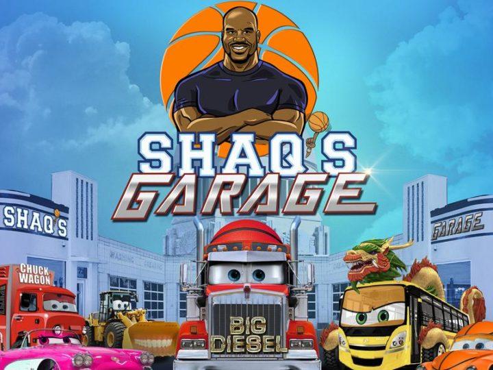 """Shaq's Garage"", la serie animada con Shaquille O'Neal"