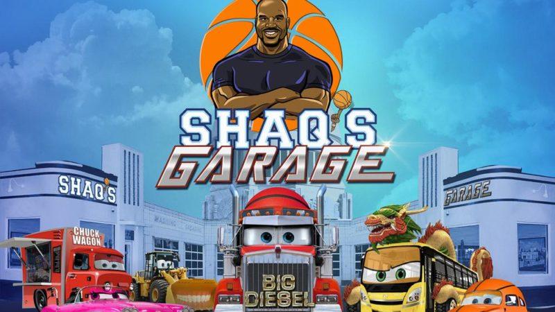 """""""Shaq's Garage"""", a série animada com Shaquille O'Neal"""