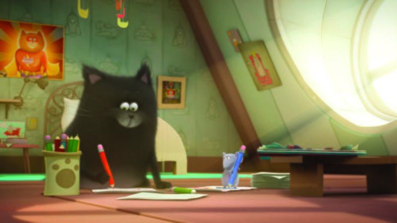 """""""Splat & Seymour"""" la serie animata per bambini dai libri di Rob Scotton"""