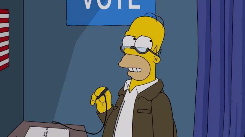 De teaser van 'Simpsons: Treehouse of Horror' debuteert, ingesteld voor Paley Front Row