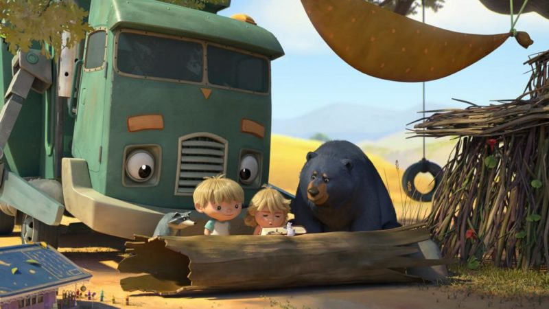 "Max Keanes Trailer ""Hank and the Garbage Truck"" auf Netflix"