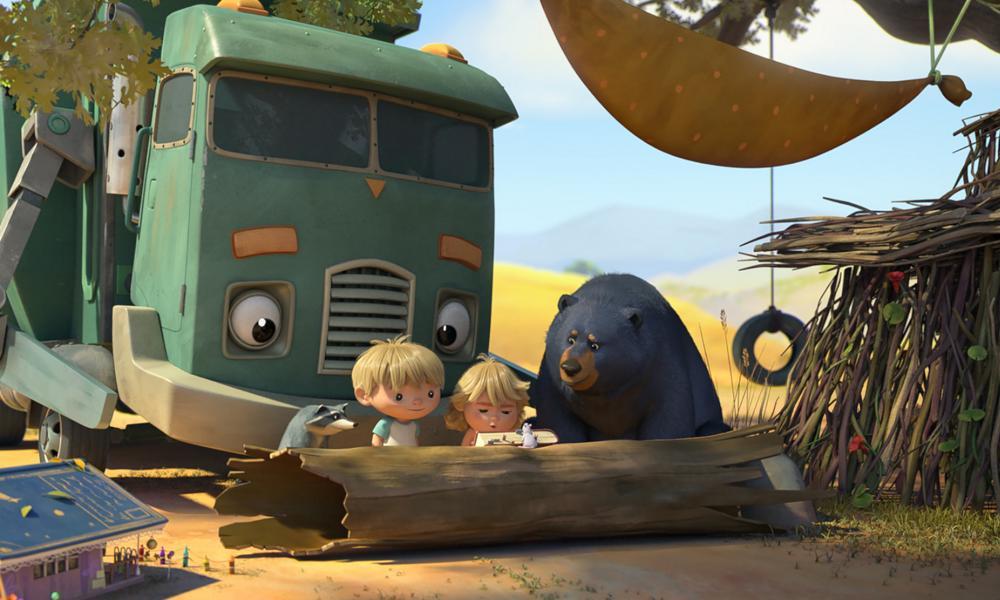"""नेट कीफिक्स पर मैक्स कीन का """"हांक एंड द गारबेज ट्रक"""" ट्रेलर"""