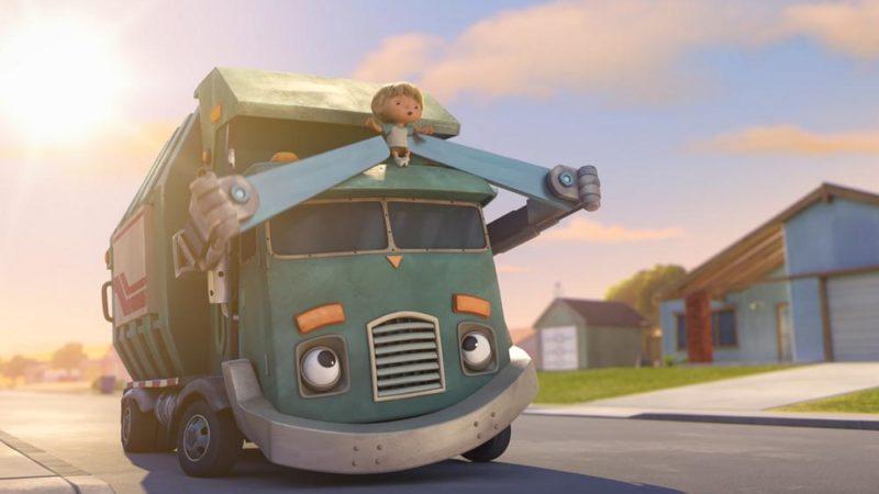 「ハンクとゴミトラック」のアイデアはどこから来ましたか?