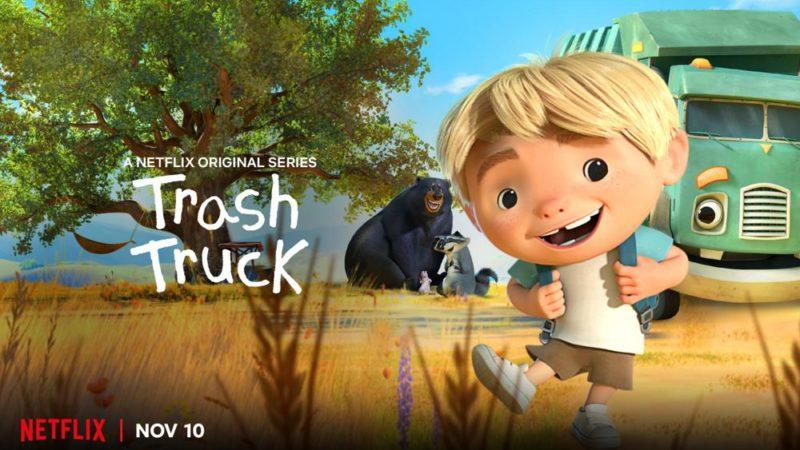 """Max Keanes """"Trash Truck"""" wird am 10. November auf Netflix eintreffen"""