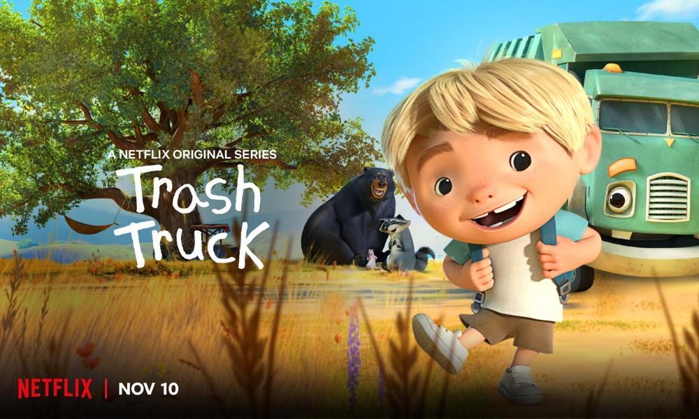 """""""Trash Truck"""" di Max Keane arriverà il 10 novembre su Netflix"""