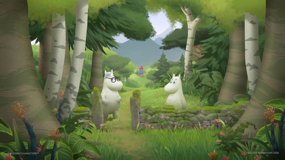 Moominvalley S3 concept art per gentile concessione di Gutsy Animations