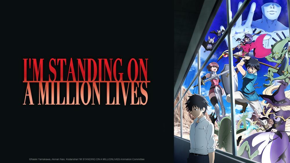 Sono in piedi su un milione di vite