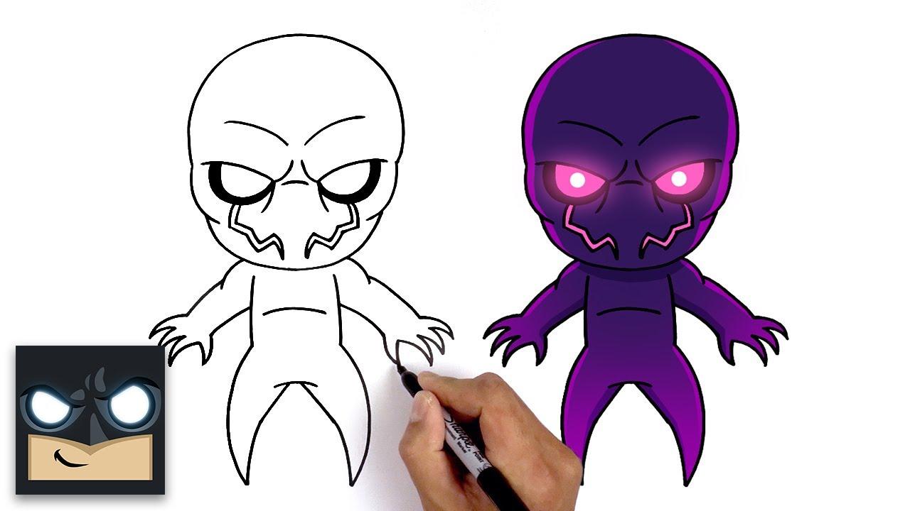 Come disegnare Shadow di Fortnite Fortnitemares