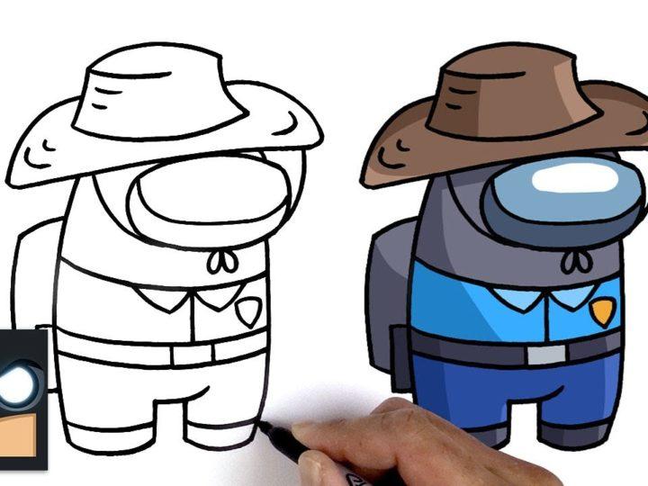 Kuinka piirtää herra Beastin joukkuetoveri | Keskuudessamme